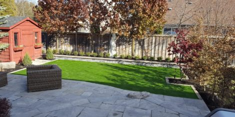 Suburban Turf Landscape Design GTA | Turf Design by Terra-Opus