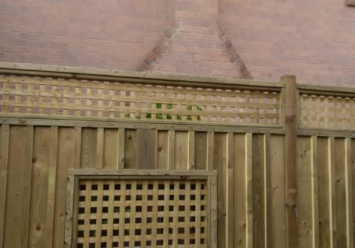 Lattice Privacy Screen | Suburban Landscape Design GTA | Landscape Design and Construction GTA | Landscape Design and Construction by Terra-Opus