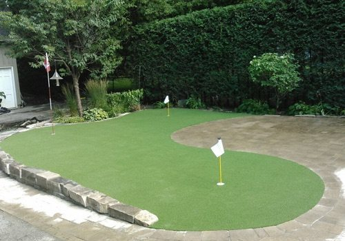 Backyard Putting Green GTA | Turf Design by Terra-Opus
